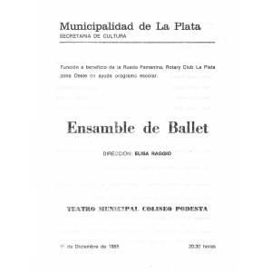 Ensamble de Ballet
