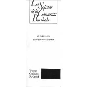 70º aniversario de la Reforma Universitaria