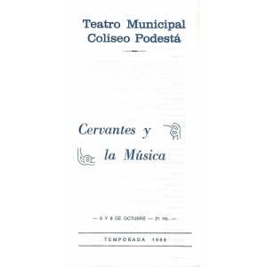 Cervantes y la Música