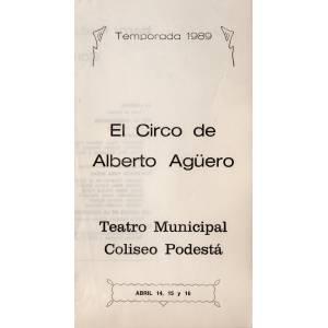 """El circo de Alberto Agüero"""