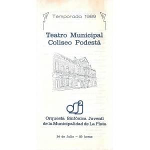 """Orquesta Sinfónica Juvenil de la Municipalidad de La Plata"