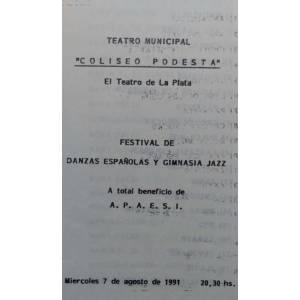 Festival de Danzas Españolas y Gimnasia Jazz