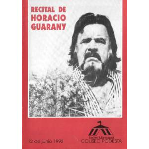 Recital de Horacio Guarany