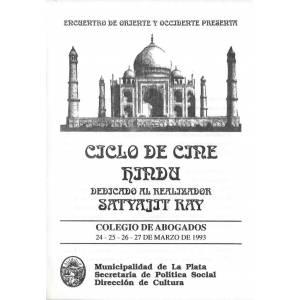 Ciclo de Cine Hindu