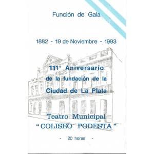 Velada de Gala - Aniversario de la Ciudad