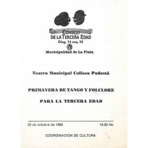 """""""Primavera de Tango y Folklore"""""""
