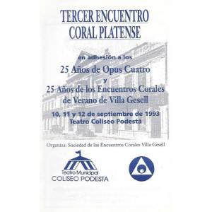 3º Encuentro Coral Platense
