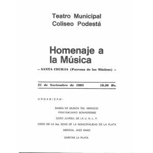 """""""Homenaje a la Música"""""""