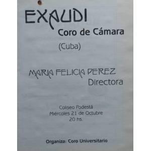 Exaudi Coro Cubano