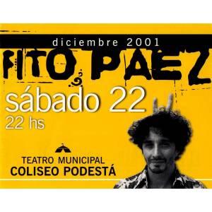 "Fito Paez presenta ""Grandes éxitos"""