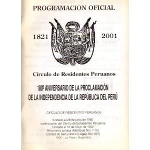 180º Aniversario de la Independencia del Perú