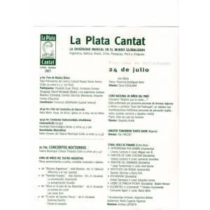 Festival Coral La Plata CANTAT