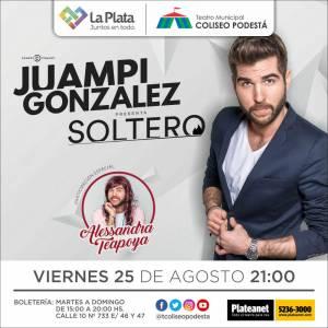 Juampi González. Soltero