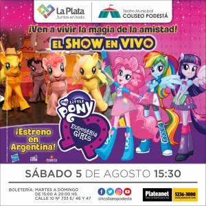 My Litle Pony. El show en vivo