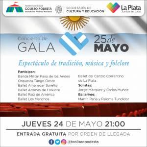 Concierto de Gala 25 de Mayo