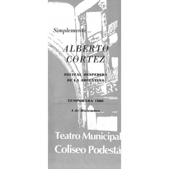 Simplemente… Alberto Cortez