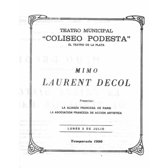 """Laurent Decol"""