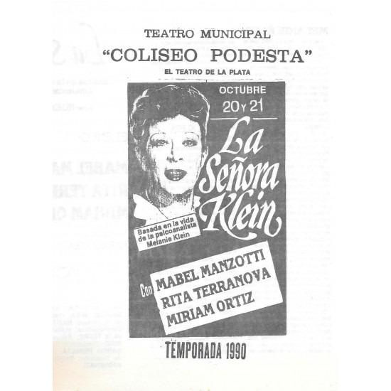 """La Señora Klein"""