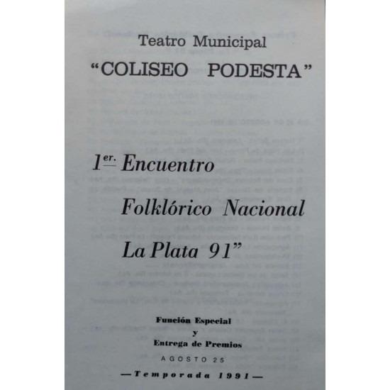 1º Encuentro Folklórico Nacional La Plata 91