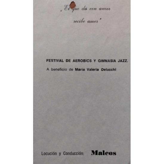 Festival de aerobics y gimnasia jazz