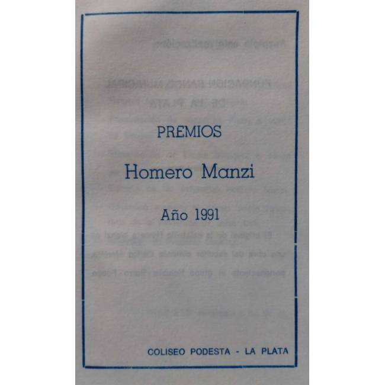 """Premios """"Homero Manzi"""""""