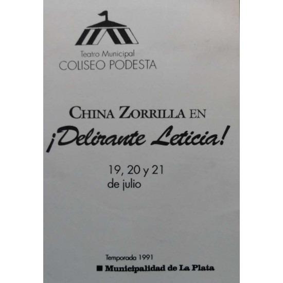 """""""¡Delirante Leticia!"""""""