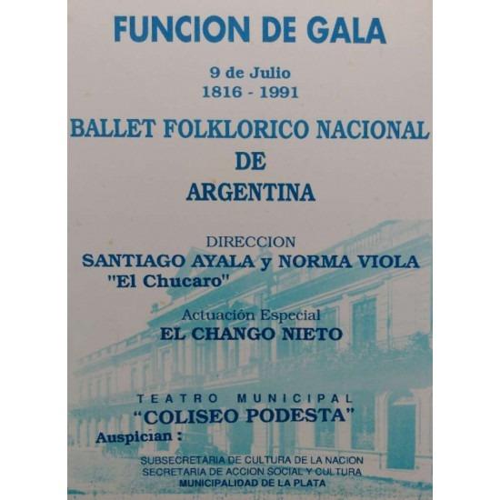 Función de Gala-Ballet Folklorico Nacional