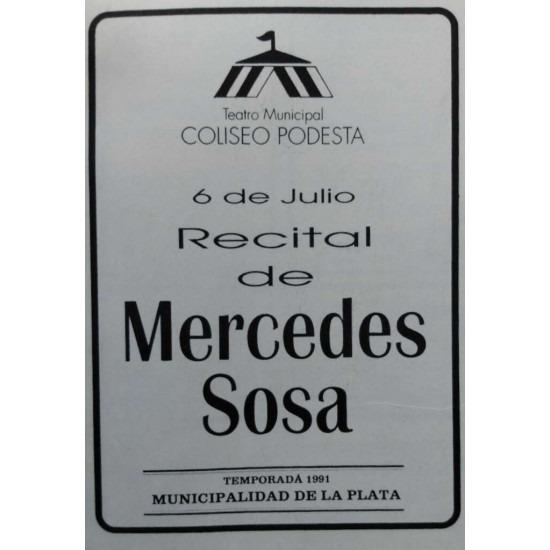 Recital de Mercedes Sosa