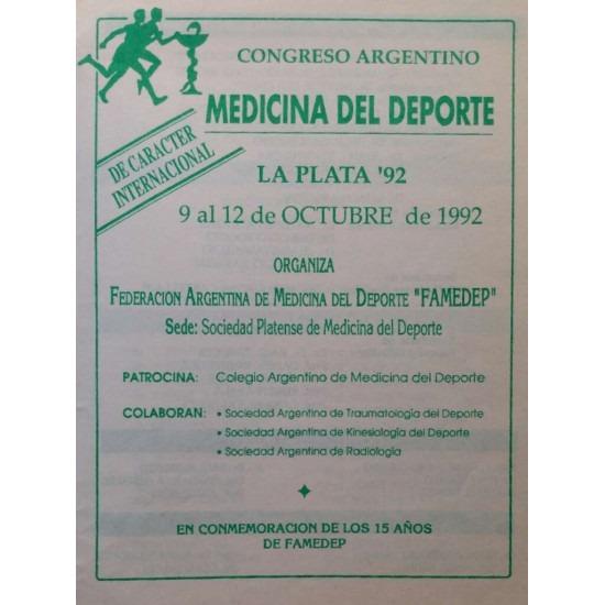 Congreso Argentino Medicina del deporte