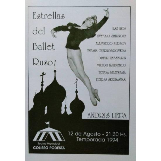 Estrellas del Ballet Ruso