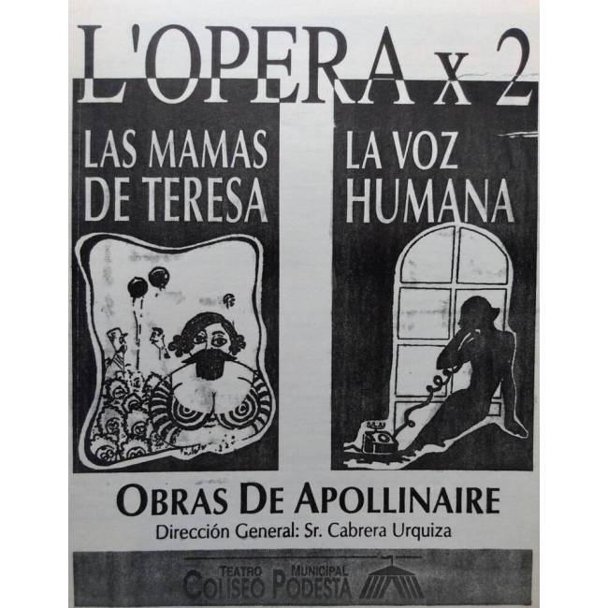"""""""La vox humaine""""/""""Les manelle"""""""