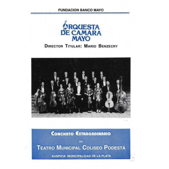 Concierto extraordinario de la Orquesta de Camara Mayo