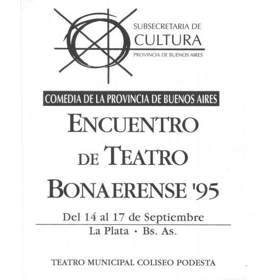 Encuentro de Teatro Bonaerense ´95