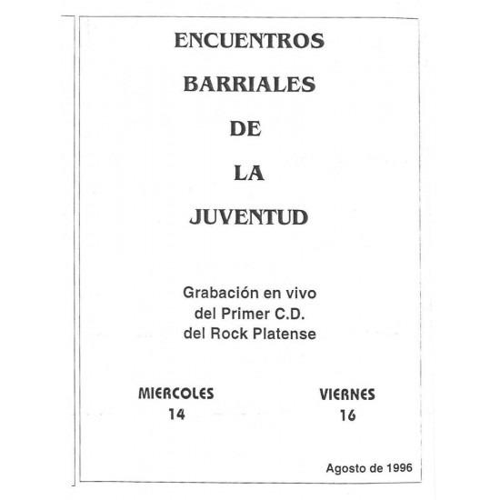 """""""Encuentros Barriales de la Juventud de Rock"""""""