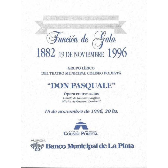 """Don Pascuale""-Velada de Gala"