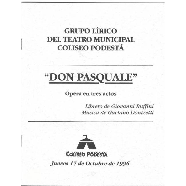 """""""Don Pascuale"""""""