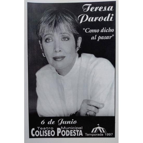 "Teresa Parodi "" Como dicho al pasar"""
