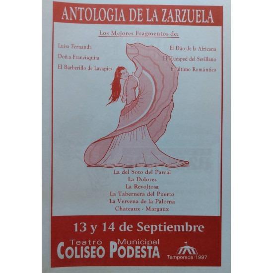 """""""Antologia de la Zarzuela"""""""