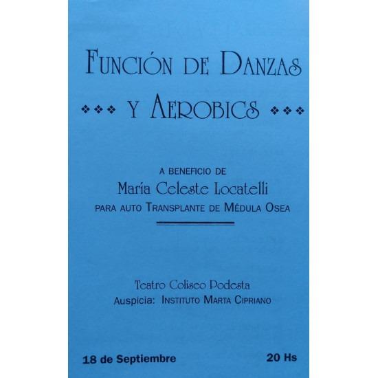 Festival de danzas y aerobics