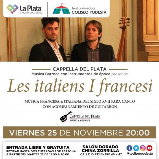 Les italiens I francesi