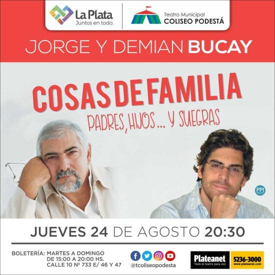 Jorge y Demián Bucay. Cosas de familia