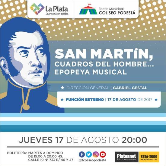 San Martín, cuadros del hombre