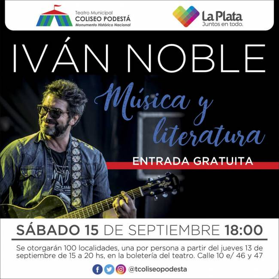 Iván Noble. Música y Literatura