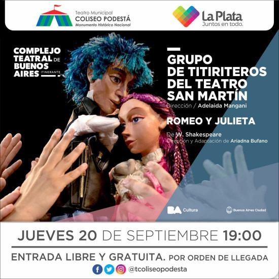 Titiriteros del Teatro San Martín