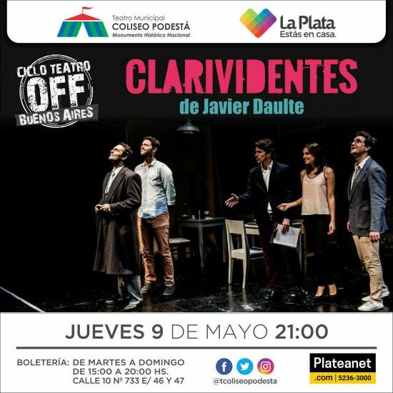 Ciclo Teatro Off Buenos Aires. Clarividentes