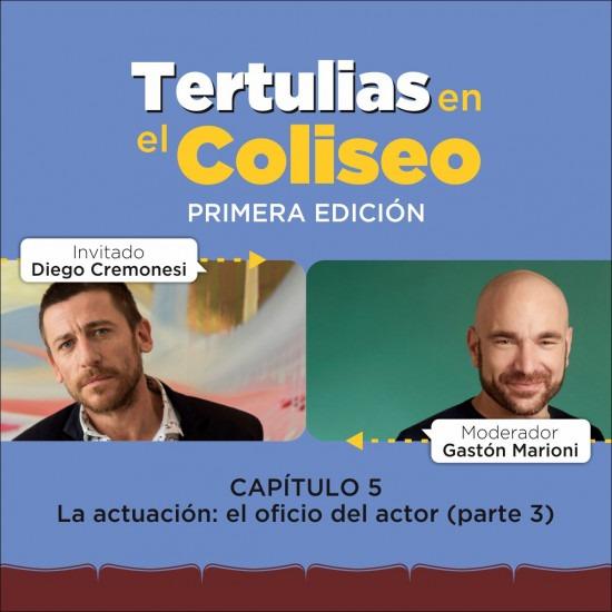 Tertulias en el Coliseo: Diego Cremonesi