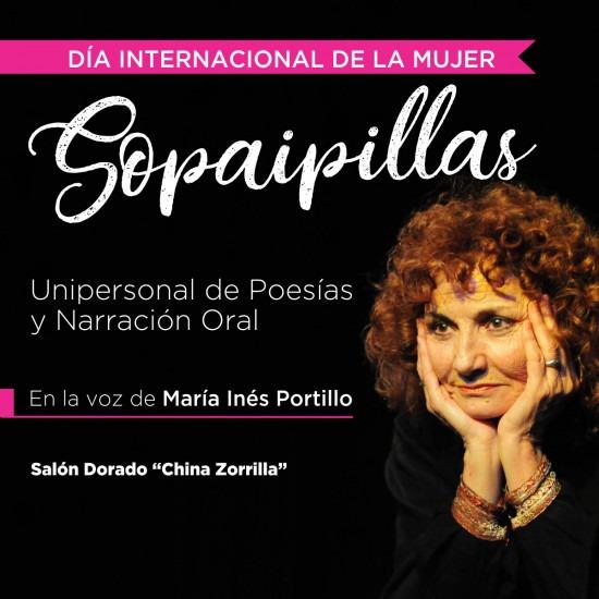 """""""Sopaipillas"""", un espectáculo gratuito para conmemorar el Día Internacional de la Mujer"""