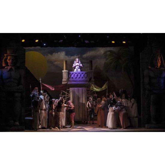 La corte del faraón