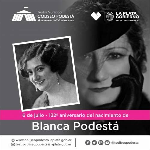 Recordamos a Blanca Podestá a 132 años de su nacimiento