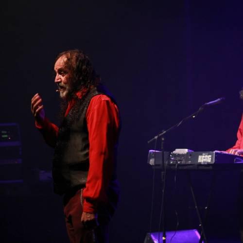 Cacho Garay se reencontró con el público platense